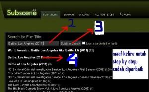 cara mencari text subtitle film
