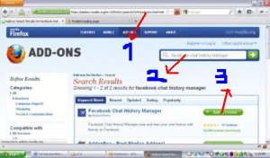 cara menyimpan percakapan facebook