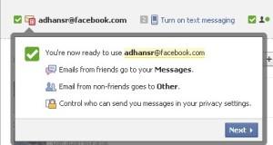 Cara Buat Email @Facebook.com