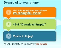 Cara download snaptu