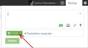 Update post di Google +