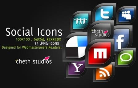 Download Gratis Ikon-Ikon Keren Sosial Media Sharing