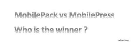 MobilePack vs MobilePress
