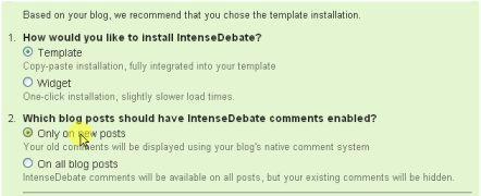 metode instalasi intense debate di blogspot