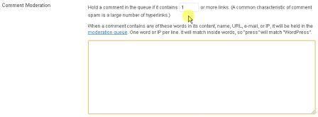 moderisasi komentar untuk mengatasi spam