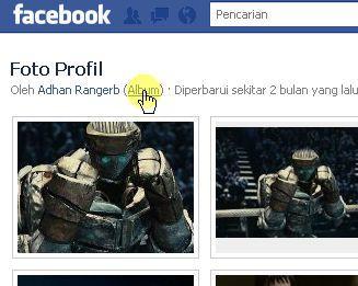 album foto profil fb