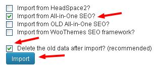 cara import data di wordpress seo by yoast