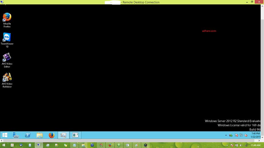 VPS Windows Runabove RDP