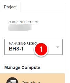 pilih region server RunAbove