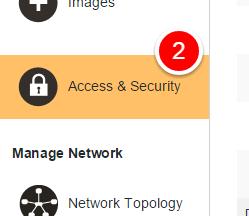 Pilih access & security