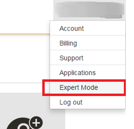 expert mode runabove